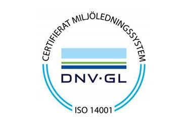Certifieringsmärke ISO 14001