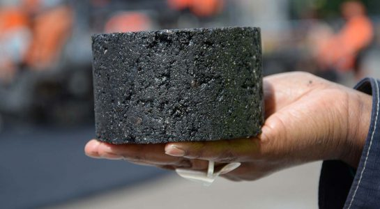 Peabs asfalt med Sekabs lignin