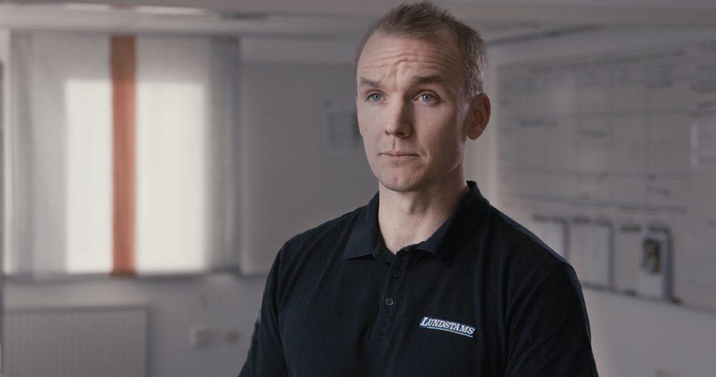 Fredrik Hedström, Transportchef på Lundstams