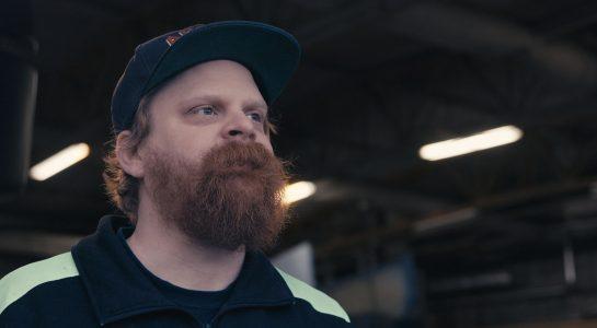 Tommy Eriksson, chaufför på Lundstams