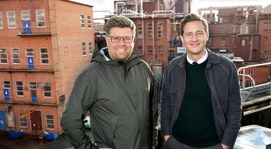 Mikael Fränckel och Emil Källström